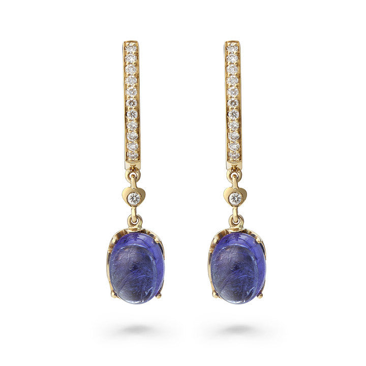 Tanzanite City Earrings