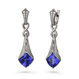 Tanzanite Statement Earrings