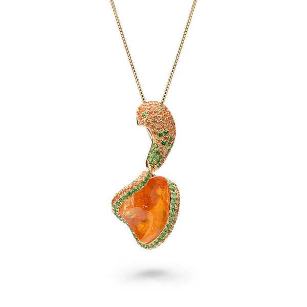 Honey Heart Pendant