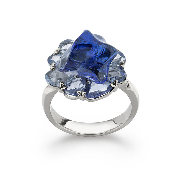 Bonbon Blue Ring