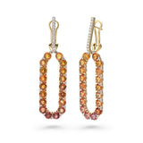 Infinite Chance Earrings (Orange)
