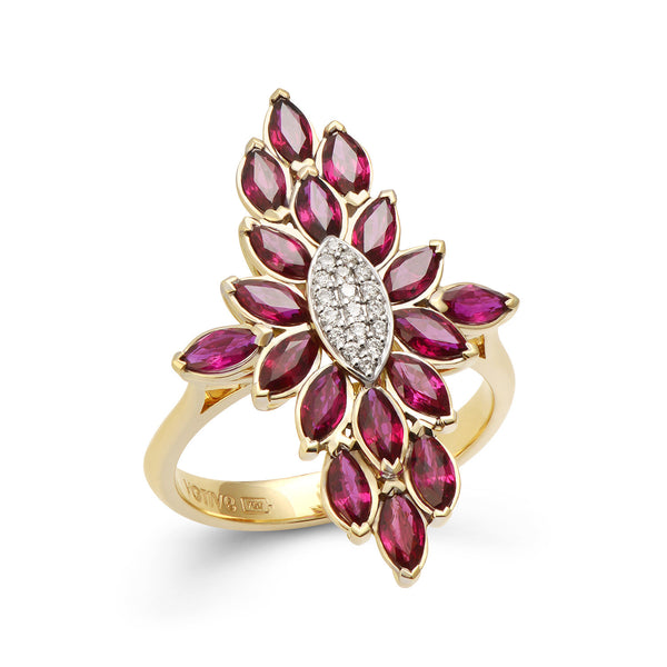 Fortune Flame Ring (Rose)