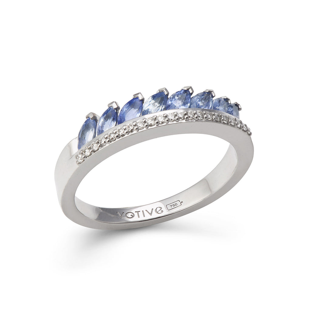 Twist of Fate Ring (Lavender)
