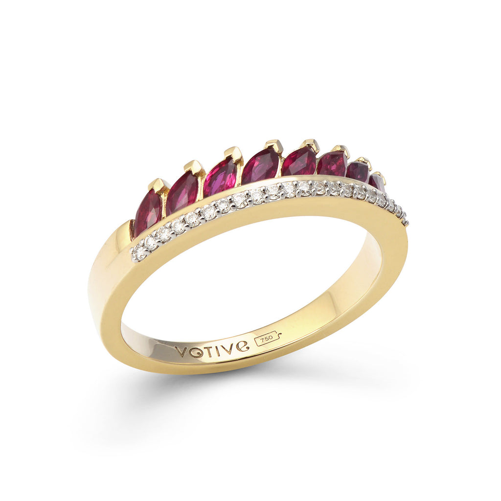 Twist of Fate Ring (Rose)