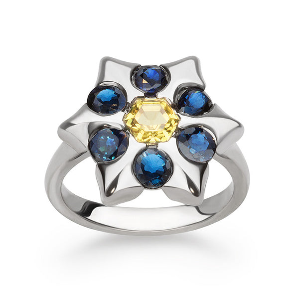 Blue Starlet Ring