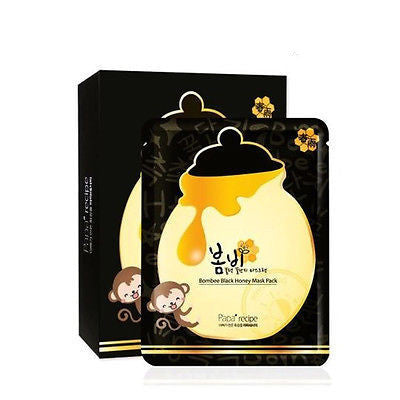 W- Bombee Black Honey Mask Pack- 20ea
