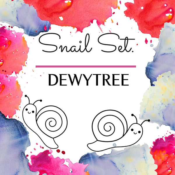 DewyTree Snail Set- Sheet Mask and Eye Patch