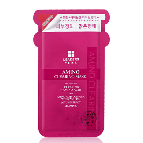 W- Leaders Mediu Amino Clearing Mask- 20ea