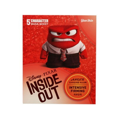 Disney Pixar Inside Out Anger Intensive Firming Facial Mask- 5ea