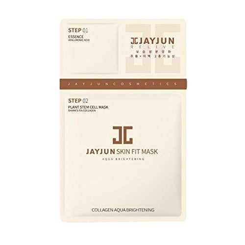 W- JayJun Skin Fit Mask Aqua Brightening- 20ea