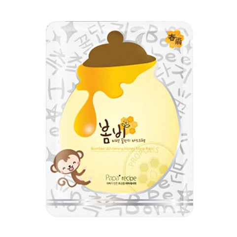 Bombee Whitening Honey Mask Pack- 10ea