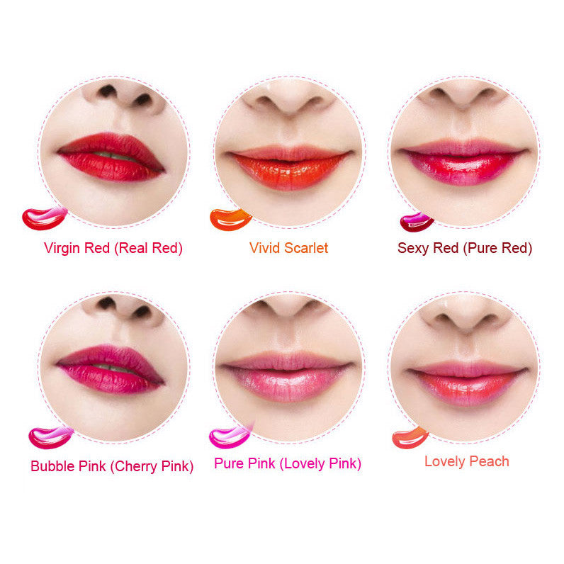 W- Berrisom Oops My Lip Tint Pack Sexy Red- 15g x 10ea