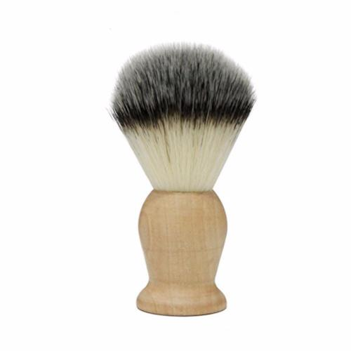 Natural Wooden Handle Beard Brush