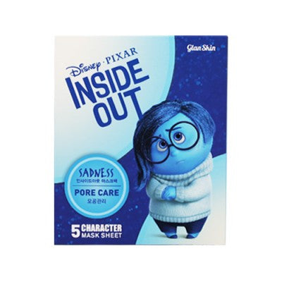 Disney Pixar Inside Out Sadness Pore Care Facial Mask- 5ea