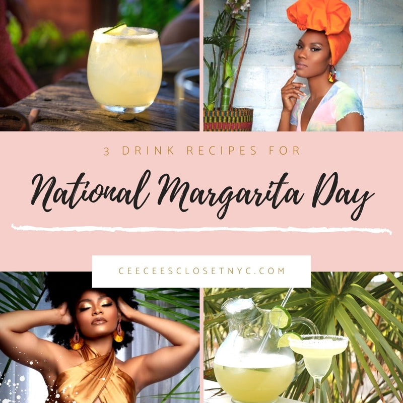 Celebrate National Margarita Day With These 3 Drink Recipes