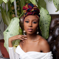 Adisa Silk Lined Headwrap - Head Wraps