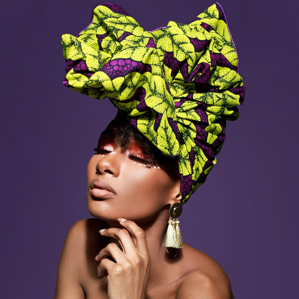 Aja Silk Lined Headwrap - Head Wraps
