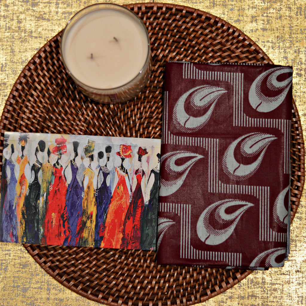 AMA GREETING CARD - Headwraps