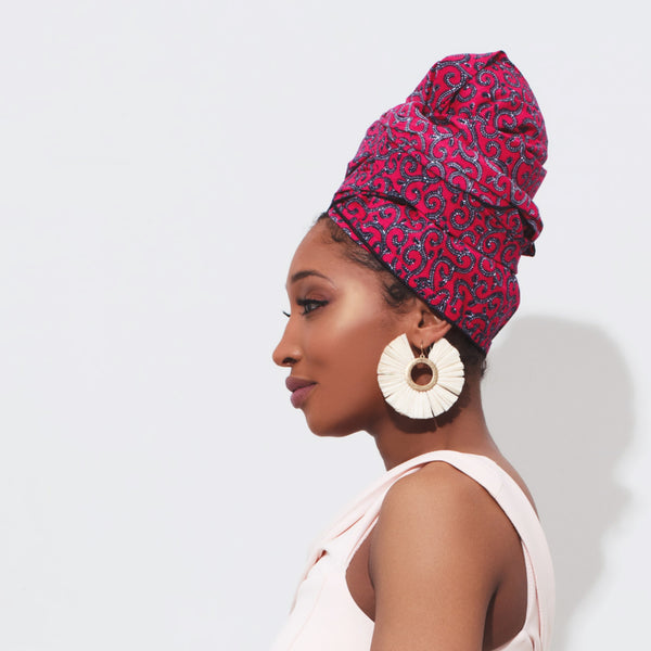 Bani Silk Lined Headwrap - Head Wraps