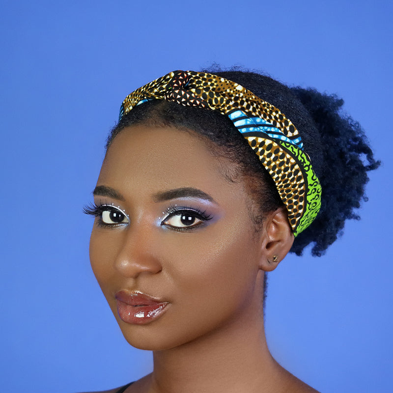 Blue Mrembo Headband
