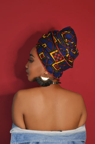 Charged Up Silk Lined Headwrap - Head Wraps