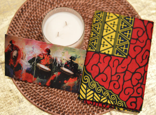 DAMBA BEAT GREETING CARD - Headwraps