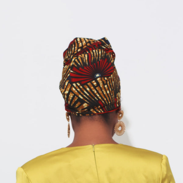 Daliah Silk Lined Headwrap - Head Wraps