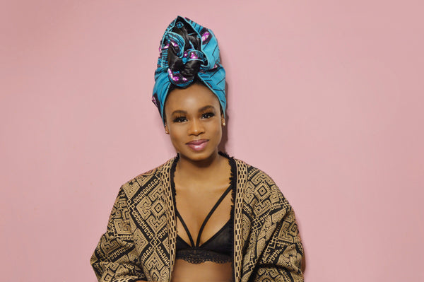 Dalila Silk Lined Headwrap - Head Wraps
