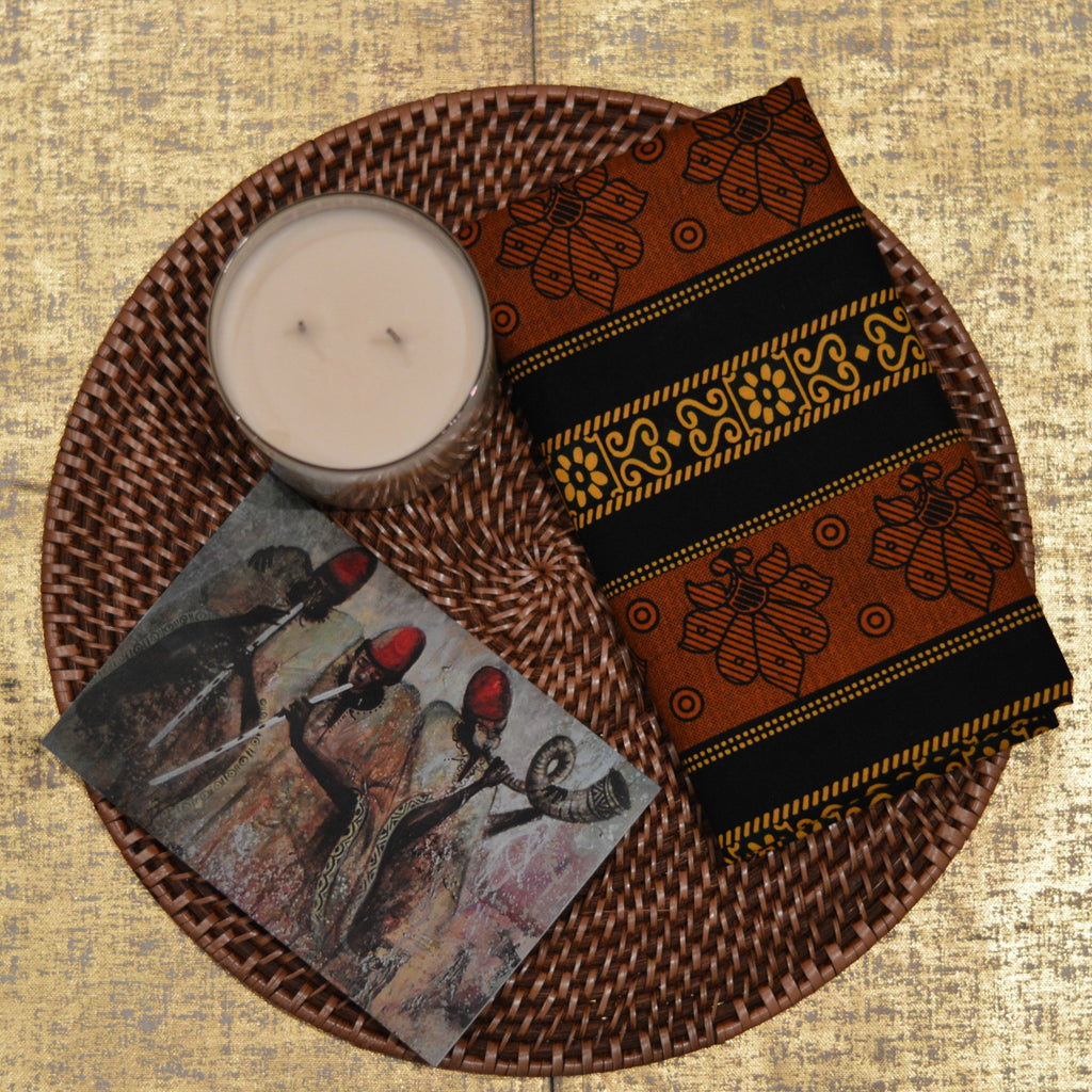 DAMBA MUSIC 2 GREETING CARD - Headwraps