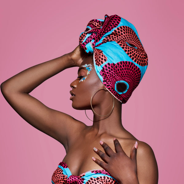 Efuru Silk Lined Headwrap