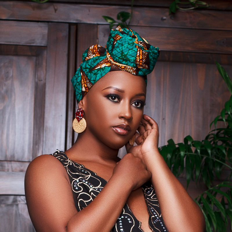 Emerald Headwrap - Head Wraps