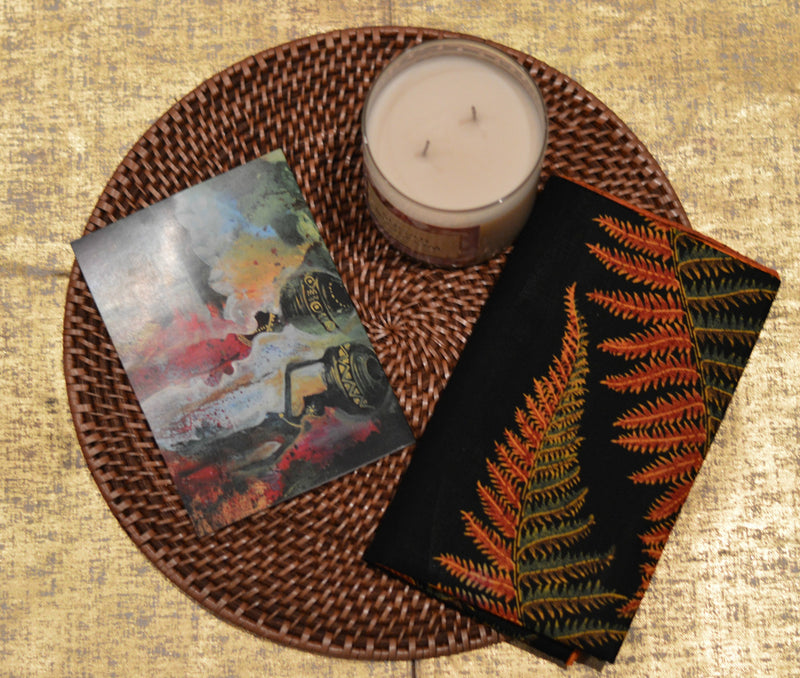 DOWN BY THE RIVERSIDE GREETING CARD - Headwraps