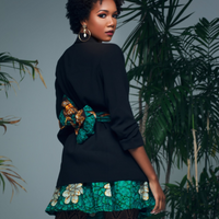 Green Yemoja Mini Skirt - Small
