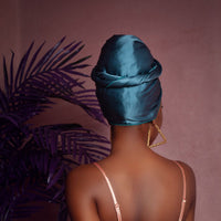 Ruwa Silk Headwrap - Head Wraps