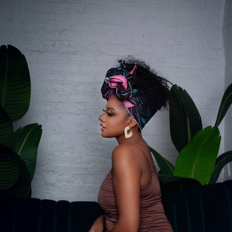 Kayu Silk Lined Shortie - Head Wraps