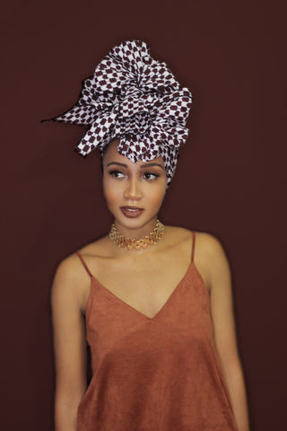 Queen of Hearts Headwrap - Headwraps
