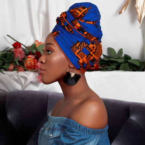 Jess Silk-Lined Headwrap - Head Wraps