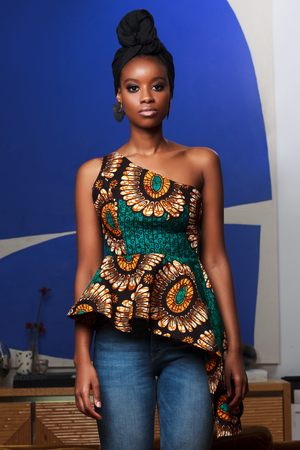 Mayeso One Shoulder Top