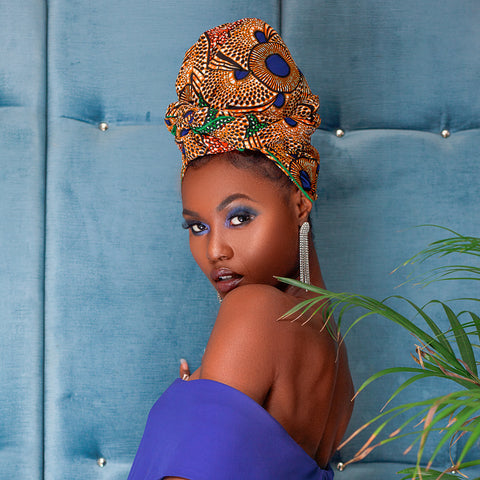 Mrembo Silk Lined Headwrap
