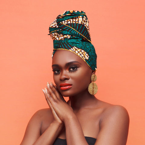 Nduna Silk Lined Headwrap