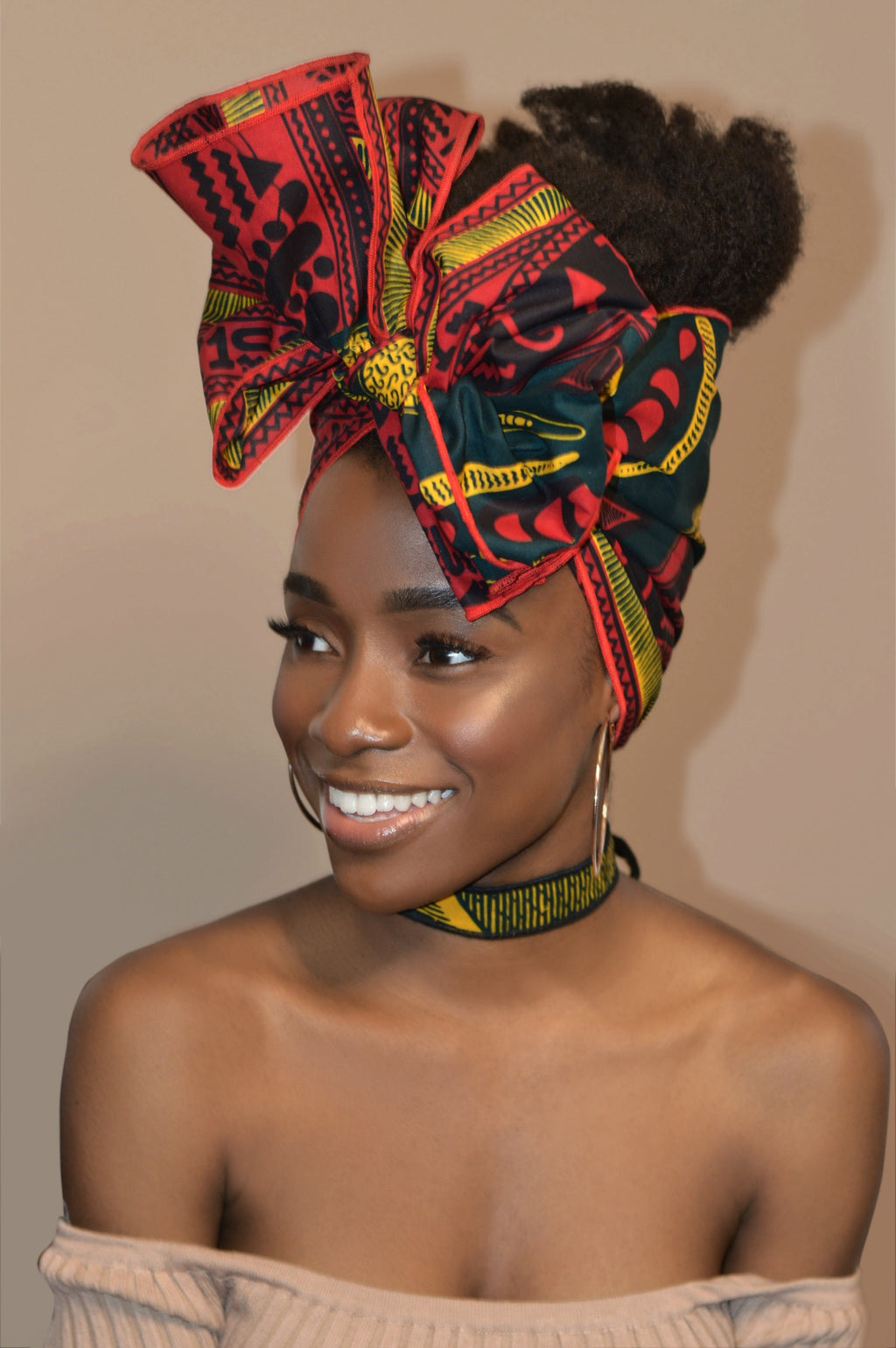Nefertiti Shortie - Headwraps