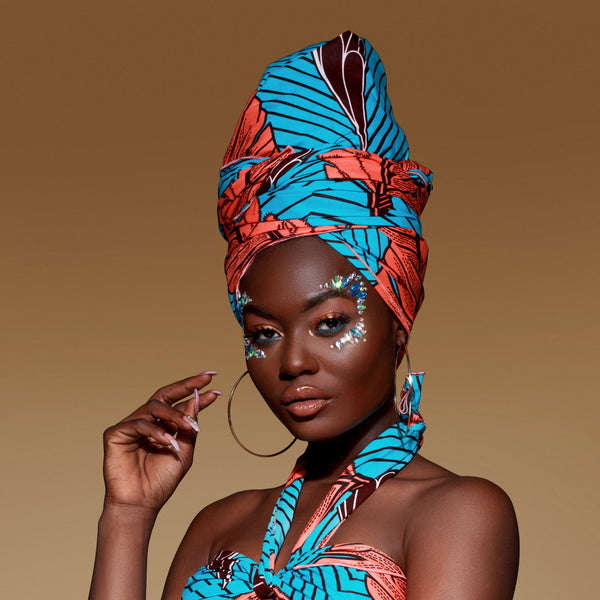 Neferu Headwrap - Head Wraps