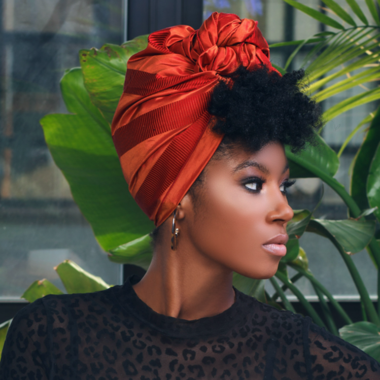 Noella Silk Headwrap