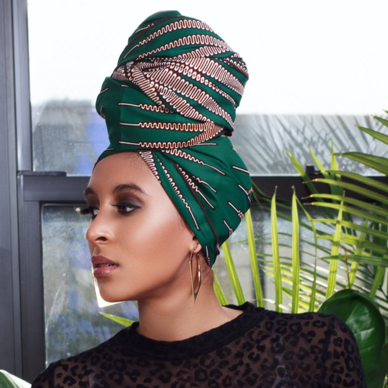 Nwabugo Silk Lined Headwrap - Head Wraps