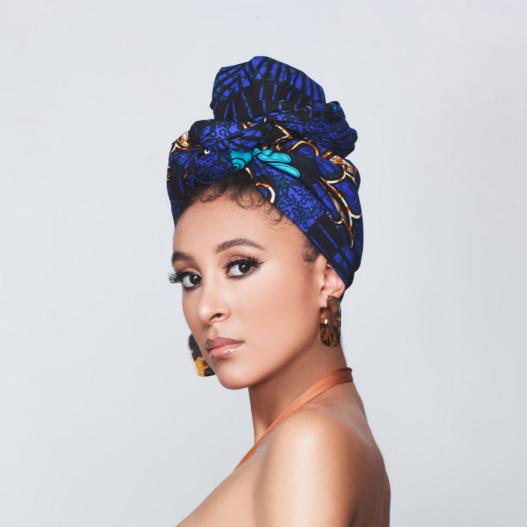 Onyebuchi Silk Lined Headwrap - Head Wraps