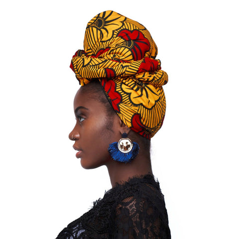 Qamata Silk Lined Headwrap