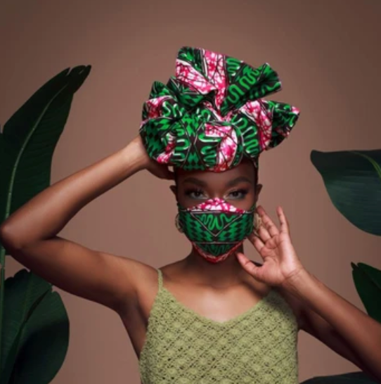 Headwrap and Mask Gift Set