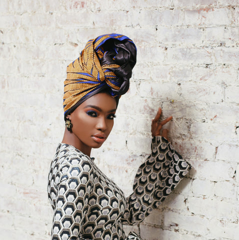 Tena Silk Lined Headwrap