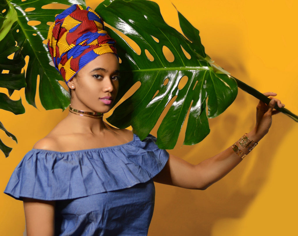 Tinashe Silk Lined Headwrap - Head Wraps - Headwraps