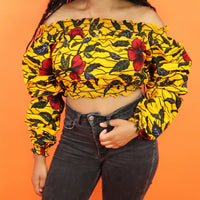 Titi Long Sleeve Crop